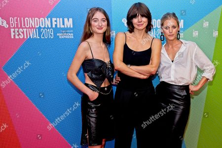 Left to Right. Raffey Cassidy, Malgorzata Szumowska, Denise Gough