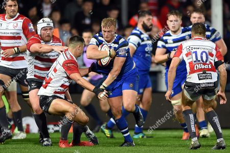 Editorial image of Gloucester Rugby v Bath Rugby, UK - 11 Oct 2019