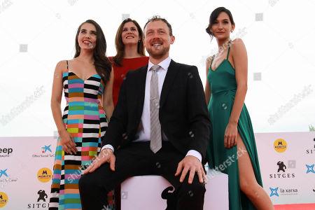 Editorial photo of 'The Cleansing Hour' photocall, 52nd Sitges Fantastic Film Festival, Spain - 11 Oct 2019