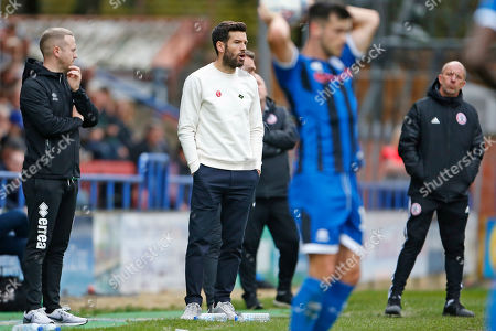Brian Barry-Murphy Manager of Rochdale during the EFL Sky Bet Championship match between Huddersfield Town and Hull City at the John Smiths Stadium, Huddersfield