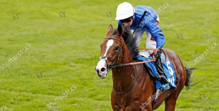 MILITARY MARCH (Oisin Murphy) wins The Dubai Autumn Stakes Newmarket
