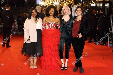 Ameenah Ayub Allen, Theresa Ikoko, Claire Wilson and Sarah Gavron