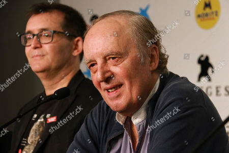 Editorial picture of 'Belle Bimbe Addormentale' press conference, 52nd Sitges Fantastic Film Festival, Spain - 12 Oct 2019