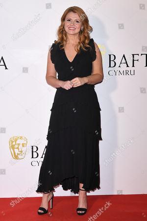Editorial image of British Academy Cymru Awards, Arrivals, St David's Hall, Cardiff, Wales, UK - 13 Oct 2019
