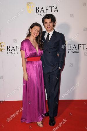 Jo Hartley and Edward Bluemel