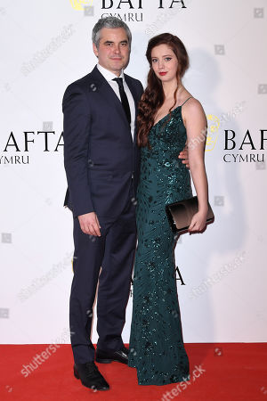 Editorial picture of British Academy Cymru Awards, Arrivals, St David's Hall, Cardiff, Wales, UK - 13 Oct 2019