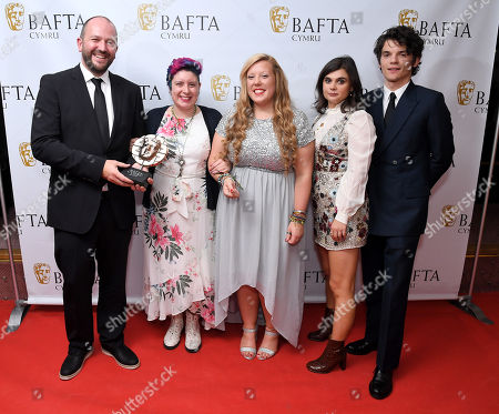 Stock Picture of Mei Williams - Director: Factual - The Incurable Optimist with Amy-Claire Davies and Jade King with Edward Bluemel and Gwyneth Keyworth