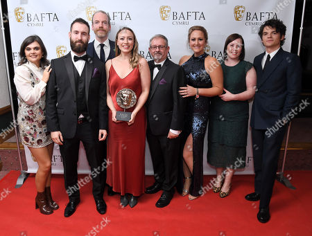 Catrin Jones, Llinos Griffin-Williams and Claire Hill - Factual Series - Velindre - The Hospital of Hope with Colin, Louis and Mark, Edward Bluemel and Gwyneth Keyworth