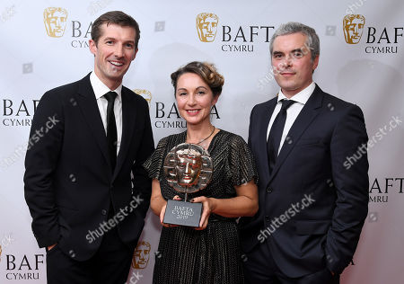 Catrin Meredydd - Production Design - Black Mirror: Bandersnatch with Gwilym Lee and Trystan Gravelle