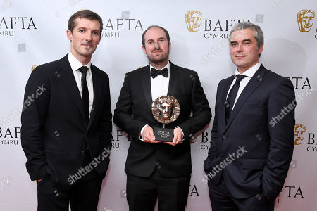 Editorial image of Exclusive - British Academy Cymru Awards, Press Room, St David's Hall, Cardiff, Wales, UK - 13 Oct 2019