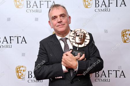 Editorial image of Exclusive - British Academy Cymru Awards, Press Room, St David's Hall, Cardiff, Wales, UK - 13 Oct 2019
