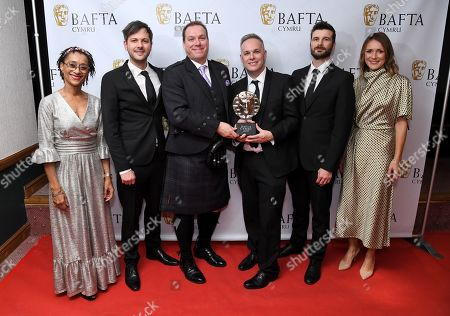 Pete Rogers, Christian Lett, Anthony Williams and Llyr Williams - Bait Studio - Special and Visual Effects - Apostle with Suzanne Packer and Cath Ayers