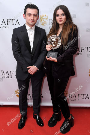 Editorial picture of Exclusive - British Academy Cymru Awards, Press Room, St David's Hall, Cardiff, Wales, UK - 13 Oct 2019
