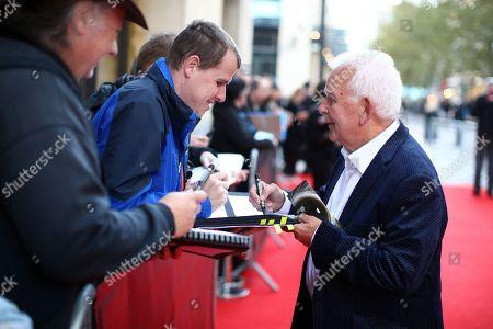Editorial photo of British Academy Cymru Awards, Arrivals, St David's Hall, Cardiff, Wales, UK - 13 Oct 2019