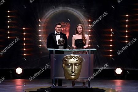 Stock Picture of Jacob Ifan and Morfydd Clark
