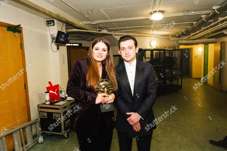 Stock Picture of Gabrielle Creevy - Actress - In My Skin with Craig Roberts
