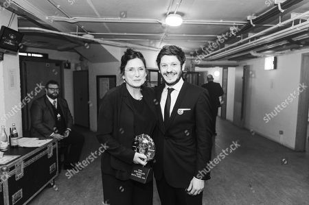 Bethan Jones - Sian Phillips Award with Iwan Rheon