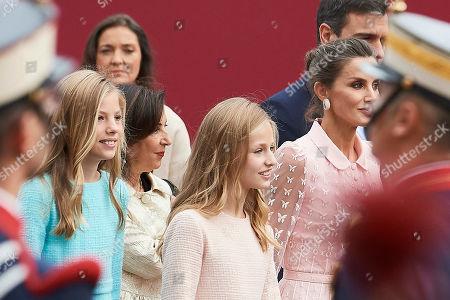 Princess Leonor, Infanta Sofia, Queen Letizia