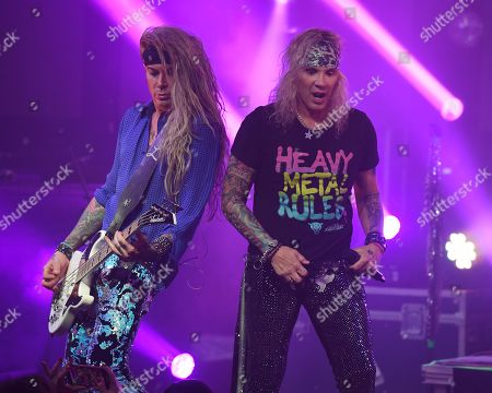 Stock Image of Lexxi Foxx, Michael Starr