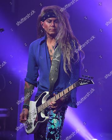 Editorial photo of Steel Panther in concert at The Culture Room, Fort Lauderdale, Florida, USA - 11 Oct 2019