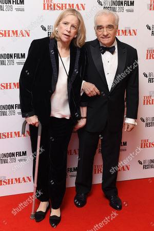 Martin Scorsese and Helen Morris