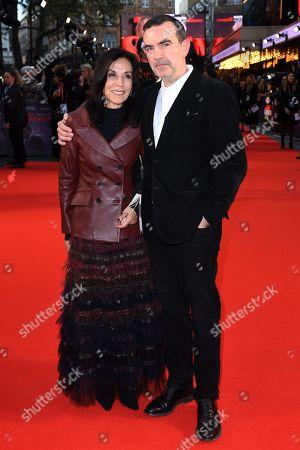 Olivia Harrison and Simon Aboud