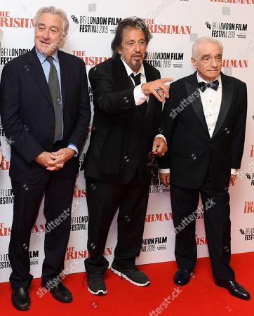 Editorial image of 'The Irishman' premiere, BFI London Film Festival, UK - 13 Oct 2019