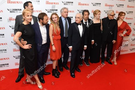 Welker White, Jack Huston, Stephen Graham, India Ennenga, Robert De Niro, Martin Scorsese, Al Pacino, Anna Paquin, Harvey Keitel and Stephanie Kurtzuba
