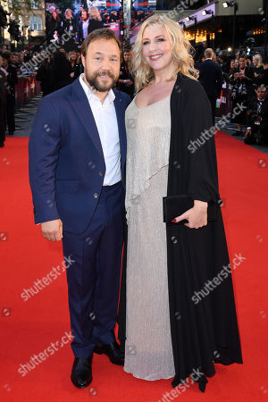 Stock Photo of Stephen Graham and Hannah Walters