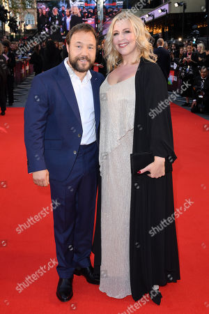 Stock Picture of Stephen Graham and Hannah Walters