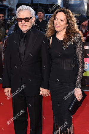 Stock Picture of Harvey Keitel and Daphna Kastner