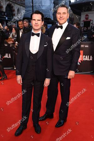 Jimmy Carr and David Walliams