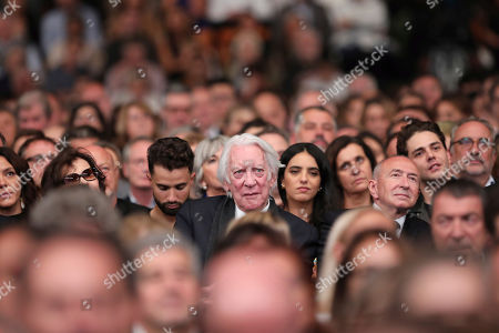 US actor Donald Sutherland attends the opening ceremony of the 11th Lumiere Festival, in Lyon, central France