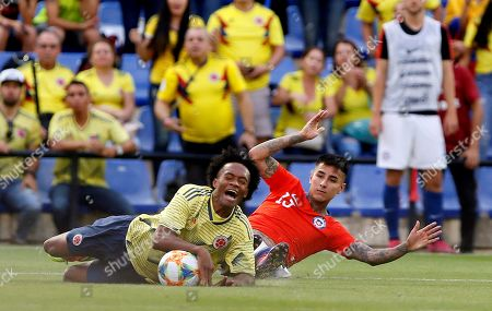 Editorial photo of Chile - Colombia, Alicante (Es-Es), Spain - 12 Oct 2019