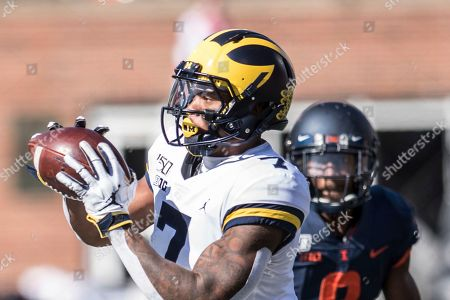 Editorial picture of Michigan Illinois Football, Champaign, USA - 12 Oct 2019
