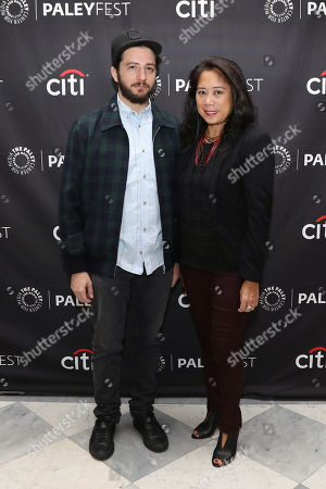 Stock Picture of John Magaro and Anne del Castillo (Commissioner; Mayor's Office of Media and Entertainment)