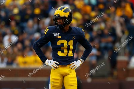 Michigan defensive back Vincent Gray (31) plays against Rutgers in the second half of an NCAA college football game in Ann Arbor, Mich