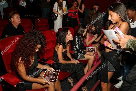 Stock Photo of Zonta, Carlye Tamaren, Ana Golja, Michelle Defraites
