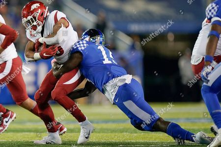 Editorial image of Arkansas Kentucky Football, Lexington, USA - 12 Oct 2019