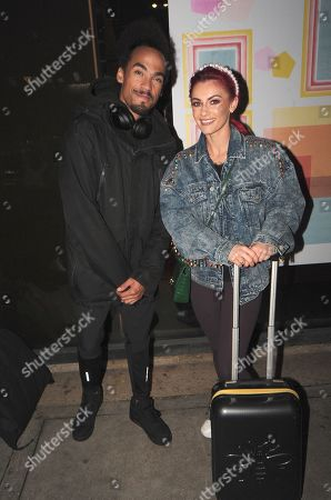 Devin Griffin and Dianne Buswell