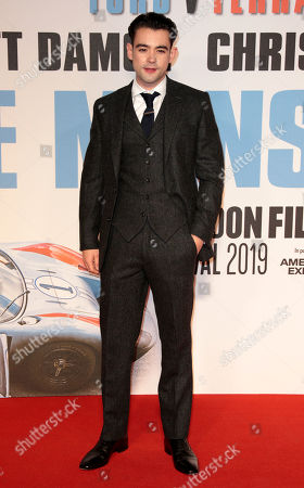 Editorial picture of 'Le Mans '66' film premiere, BFI London Film Festival, UK - 10 Oct 2019