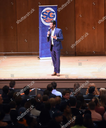 Donald Trump, Jr. speaks at the University of Florida.