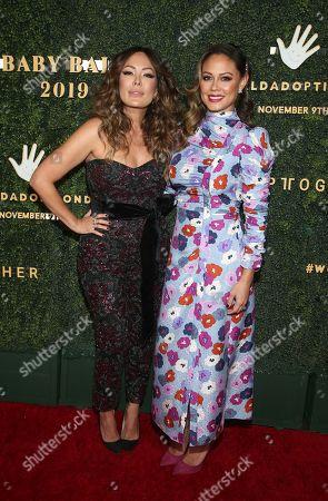 Lindsay Price and Vanessa Minnillo