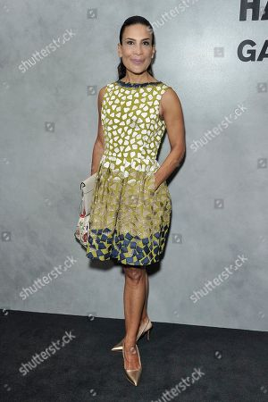 Andrea Fiuczynski attends the 17th Annual Hammer Museum Gala in the Garden, in Los Angeles