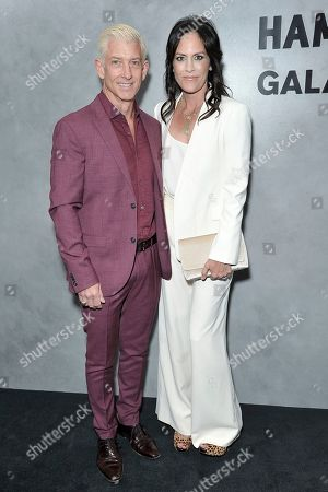 John McIlwee, Annabeth Gish. John McIlwee, left, and Annabeth Gish attend the 17th Annual Hammer Museum Gala in the Garden, in Los Angeles