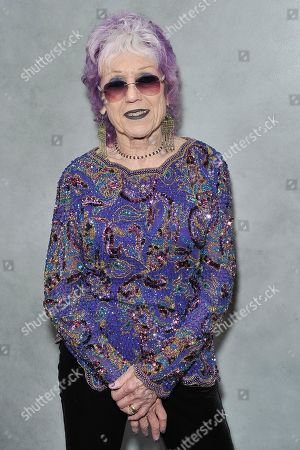 Judy Chicago attends the 17th Annual Hammer Museum Gala in the Garden, in Los Angeles