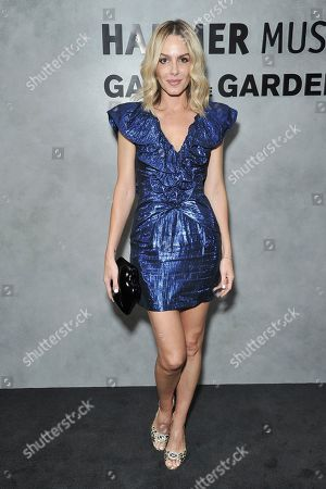 Stock Image of Monet Mazur attends the 17th Annual Hammer Museum Gala in the Garden, in Los Angeles