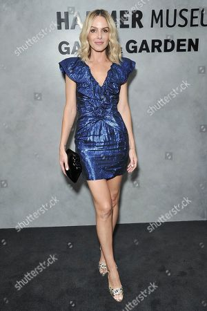 Stock Photo of Monet Mazur attends the 17th Annual Hammer Museum Gala in the Garden, in Los Angeles