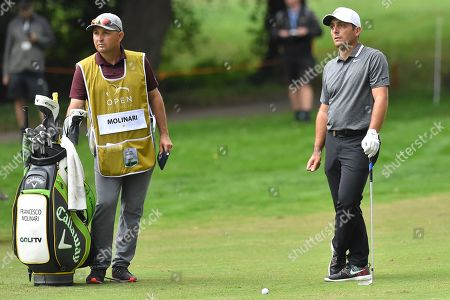 Stock Picture of Francesco Molinari during the first round
