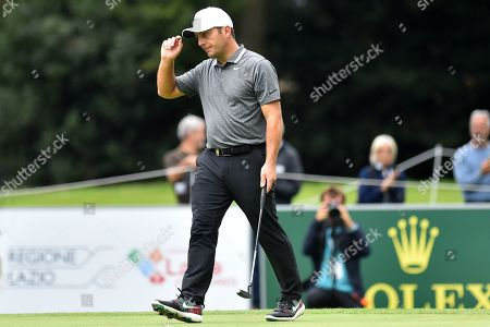 Stock Photo of Francesco Molinari during the first round